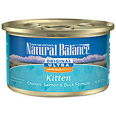 Natural Balance Original Ultra Whole Body Health Kitten Food - Gluten Free, Chicken, Salmon & Duck