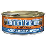 Natural Balance Ultra Premium Cat Food - Chicken & Liver, Pate