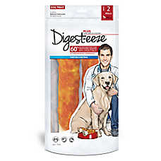 "Digest-Eeze™ Natural Wrapped Chicken Jerky 7"" Roll Dog Treat"