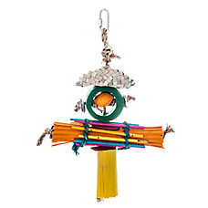 Treasure Rasta Man Bird Toy