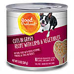 Good Natured™ Dog Food - Natural, Lamb & Vegetables, Cuts in Gravy