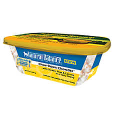 Natural Balance Delectable Delights Adult Dog Food - Chow-Down Chowder, Stew