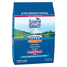 Natural Balance Original Ultra Whole Body Health Dog Food - Gluten Free, Chicken & Duck, Small Breed