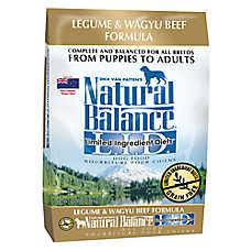 Natural Balance Limited Ingredient Diets Dog Food - Grain Free, Legume & Wagyu Beef