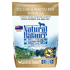 Natural Balance Limited Ingredient Diets Dog Food - Grain Free, Legume & Wagyu Beef
