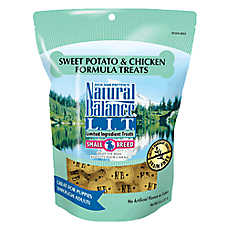 Natural Balance Limited Ingredient Grain Free Sweet Potato & Chicken Small Breed Dog Treat