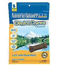Natural Balance Limited Ingredient Grain Free Duck Meal Small/Med Dog Dental Chews