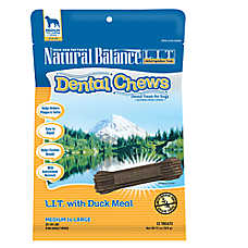 Natural Balance Limited Ingredient Grain Free Duck Meal Med/Large Dog Dental Chews