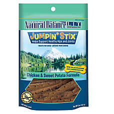 Natural Balance Limited Ingredient Grain Free Jumpin' Stix Chicken & Sweet Potato Dog Treat