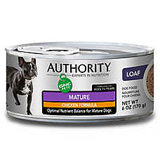 Authority® GNC Pets Mature Dog Food - Chicken