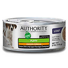 Authority® GNC Pets Puppy Food - Chicken