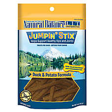 Natural Balance Limited Ingredient Grain Free Jumpin' Stix Duck & Potato Healthy Hips Dog Treat