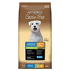Authority® Grain Free Small Breed Adult Dog Food - Chicken & Pea
