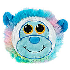 """Toys""""R""""Us® Pets Tie Dye Monkey Face Dog Toy - Crinkle (COLOR VARIES)"""