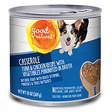 Good Natured™ Dog Food - Natural, Tuna & Chicken, Casserole