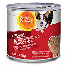 Good Natured™ Dog Food - Natural, Beef & Vegetables, Casserole