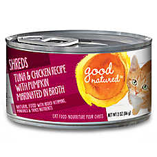 Good Natured™ Cat Food - Natural, Tuna & Chicken, Shreds