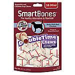 SmartBones® Double Time Chews Chicken Mini Dog Treat