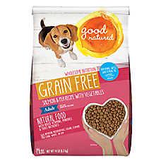 Good Natured™ Adult Dog Food - Grain Free, Natural, Salmon & Peas
