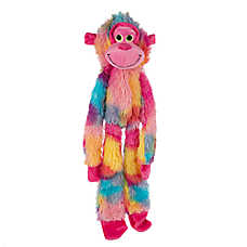 "Toys""R""Us® Pets Tie Dye Flattie Monkey Dog Toy (COLOR VARIES)"