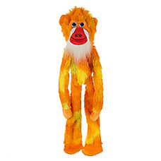 "Toys""R""Us® Pets Tie Dye Flattie Monkey Dog Toy (COLOR VARIES)"