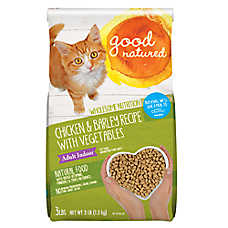 Good Natured™ Adult Indoor Cat Food - Natural, Chicken & Barley