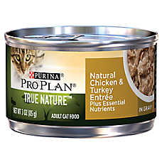 Purina® Pro Plan® TRUE NATURE™ Adult Cat Food - Natural, Essential Nutrients, Chicken & Turkey