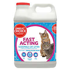 Grreat Choice® Fast Acting Fresh Clean Scent Multi-Cat Litter