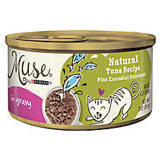 Muse® Adult Cat Food - Essential Nutrients, Natural Tuna, In Gravy
