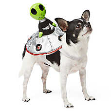 Top Paw™ Pet Halloween Alien Rider Costume