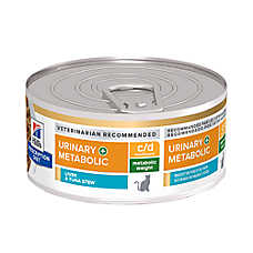 Hill's® Prescription Diet Metabolic + Uriinary Cat Food - Vegetable & Tuna Stew, Weight & Urinary