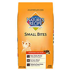 Nature' Recipe® Dog Food - Natural, Chicken Meal & Rice, Small Breed