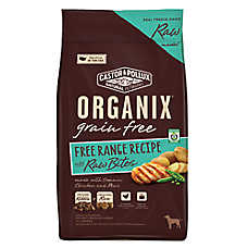 Castor & Pollux ORGANIX® Adult Dog Food - Grain Free, Organic, Free Range with Raw Bites, Chicken