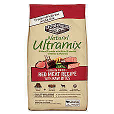 Castor & Pollux Natural Ultramix Adult Dog Food - Grain Free, With Raw Bites, Red Meat
