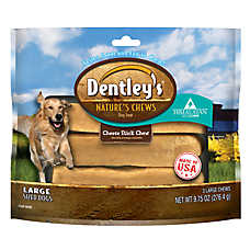 Dentley's® Nature Chews Cheese Stick Chew Large Dog Treat