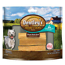 Dentley's® Nature Chews Cheese Stick Chew Small Dog Treat