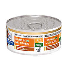 Hill's® Prescription Diet Metabolic + Uriinary Cat Food - Vegetable & Chicken Stew, Weight & Urinary