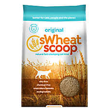 Swheat Scoop® Natural Clumping Cat Litter