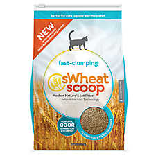 Swheat Scoop® Fast Clumping Natural Cat Litter