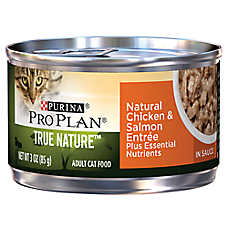Purina® Pro Plan® TRUE NATURE™ Adult Cat Food - Natural, Essential Nutrients, Chicken & Salmon