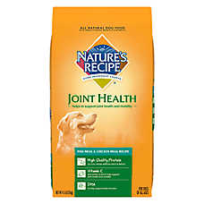 Nature' Recipe® Joint Health Dog Food - Natural, Fish Meal & Chicken Meal