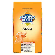 Nature' Recipe® Adult Dog Food - Natural, Chicken Meal & Rice