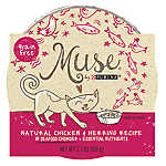 Muse® Adult Cat Food -Grain Free, Essential Nutrients, Natural Chicken & Herring, In Chowder