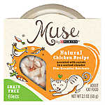 Muse® Adult Cat Food -Grain Free, Essential Nutrients, Natural Chicken with Carrots, In Chowder