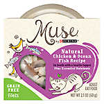 Muse® Adult Cat Food -Grain Free, Essential Nutrients, Natural Chicken & Mackerel with Bonito Topper