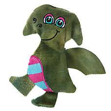 "Toys""R""Us® Pets Brontosaurus or Pterosaur Dinosaur Dog Toy - Stuffing-Free, Squeaker"