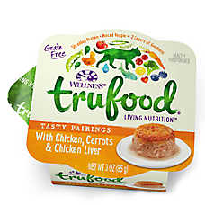 Wellness® TruFood® Tasty Pairings Cat Food - Natural, Grain Free, Chicken, Carrots & Chicken Liver