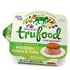 Wellness® TruFood® Tasty Pairings Cat Food - Natural, Grain Free, Chicken, Pumpkin & Turkey