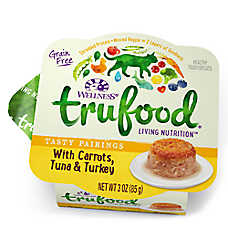 Wellness® TruFood® Tasty Pairings Cat Food - Natural, Grain Free, Carrots, Tuna & Turkey