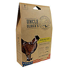 Uncle Ulrick's Natural Chicken Jerky Strips Dog Treat